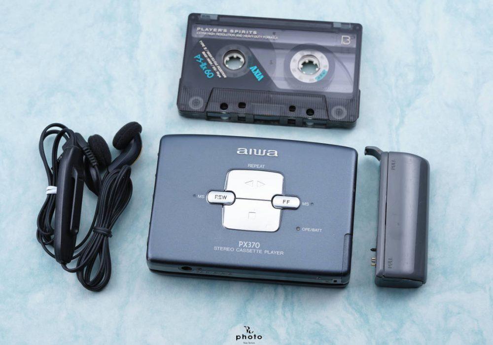 美品aiwa アイワ便携カセット播放器 HS-PX370