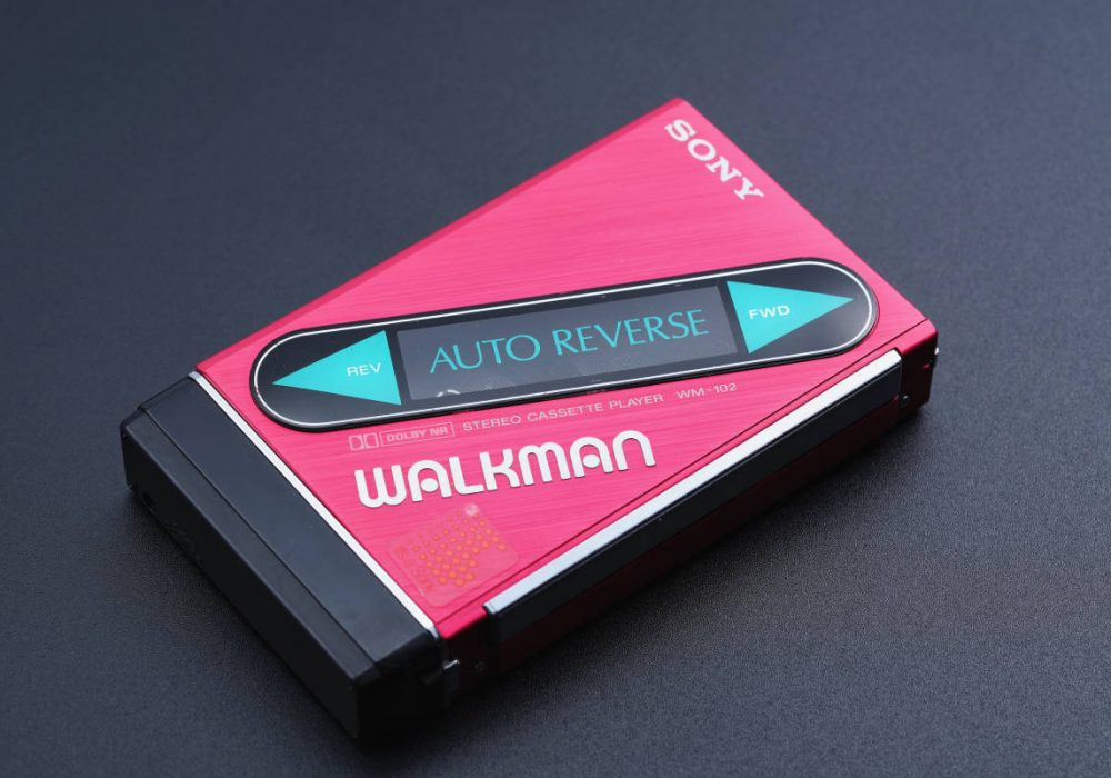 索尼 SONY WM-102 磁带随身听