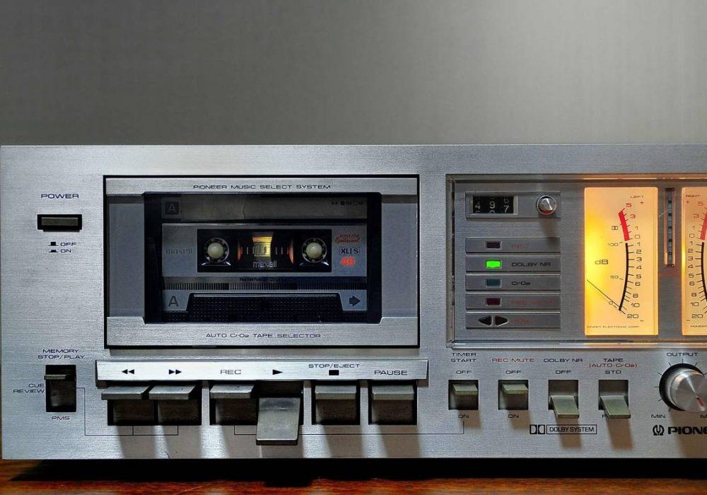 PIONEER CT-600 卡座