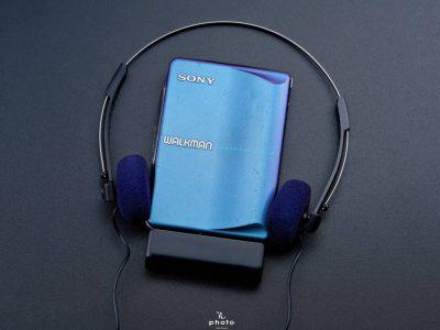 並品索尼 SONYWALKMAN便携カセット播放器 WM-EX9 マルチブルーカラー