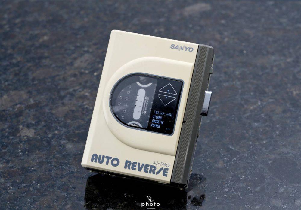 美品SANYO サンヨー便携カセット播放器 JJ-P40