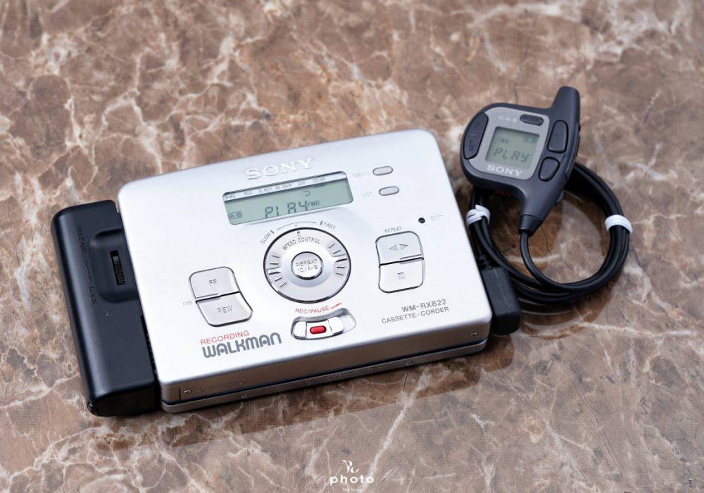 索尼 SONY WALKMAN WM-RX822 磁带随身听