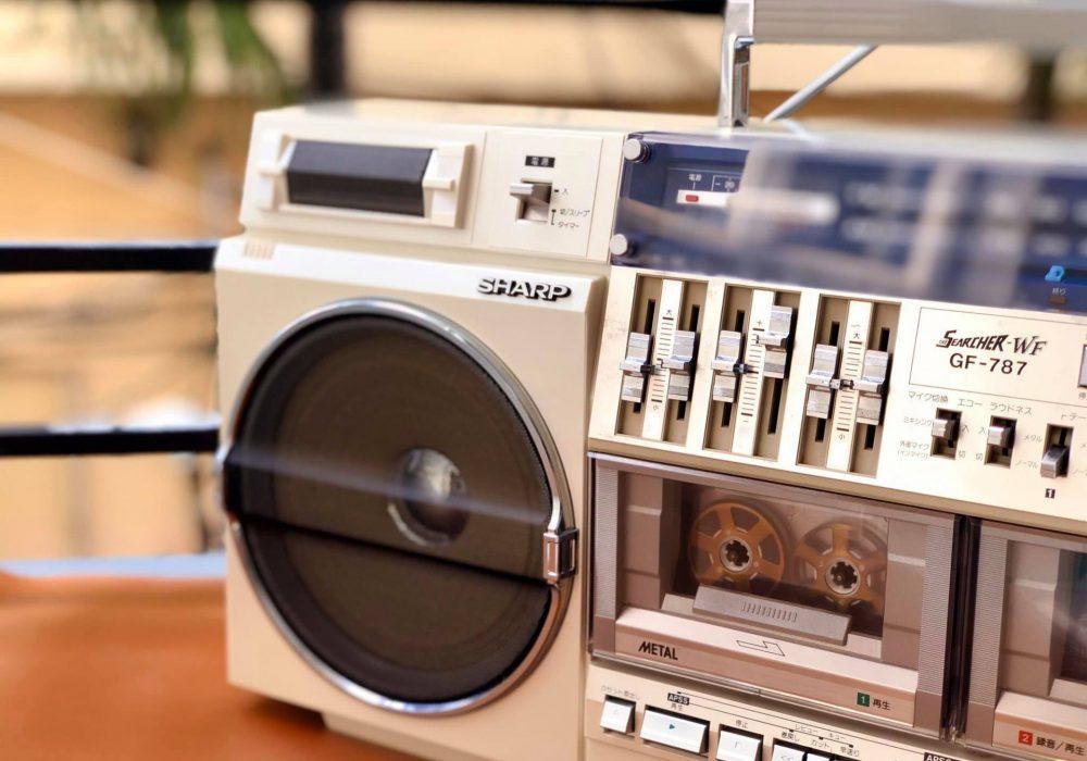 SHARP GF-787 双卡收录机
