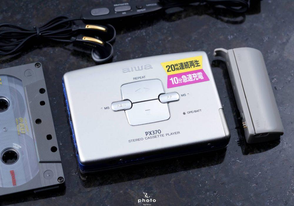 aiwa アイワ便携カセット播放器 HS-PX370 シルバー
