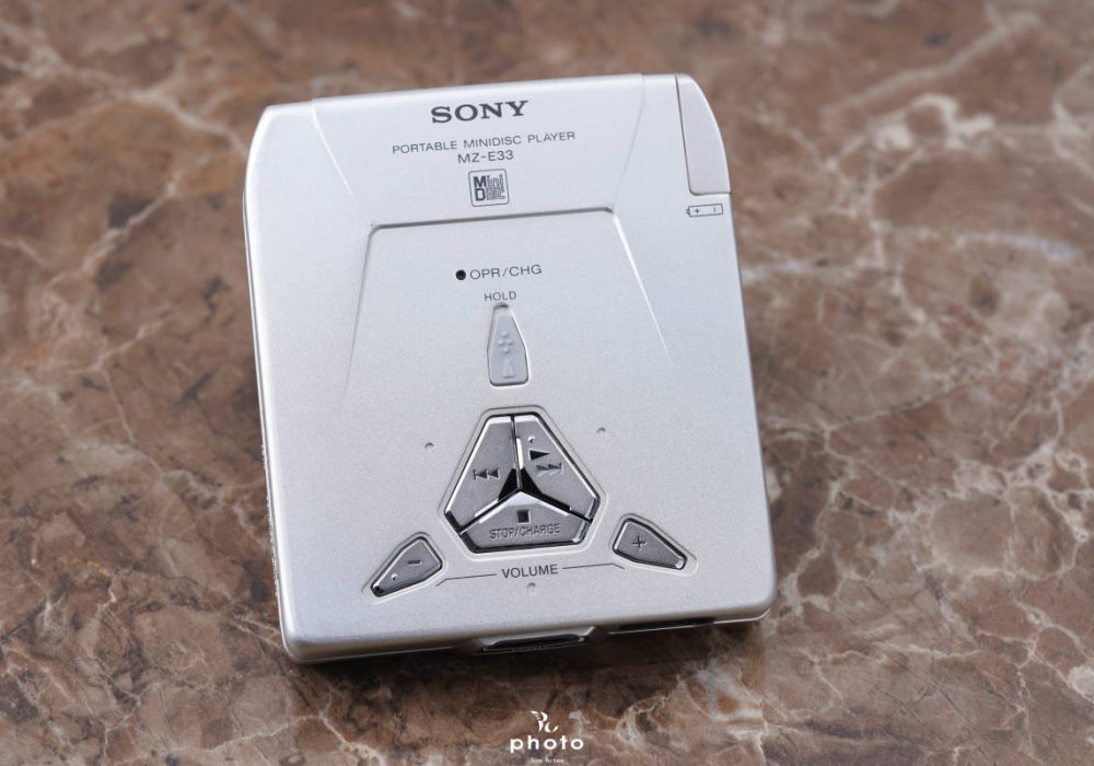索尼 SONY MZ-E33 MD WALKMAN MD随身听
