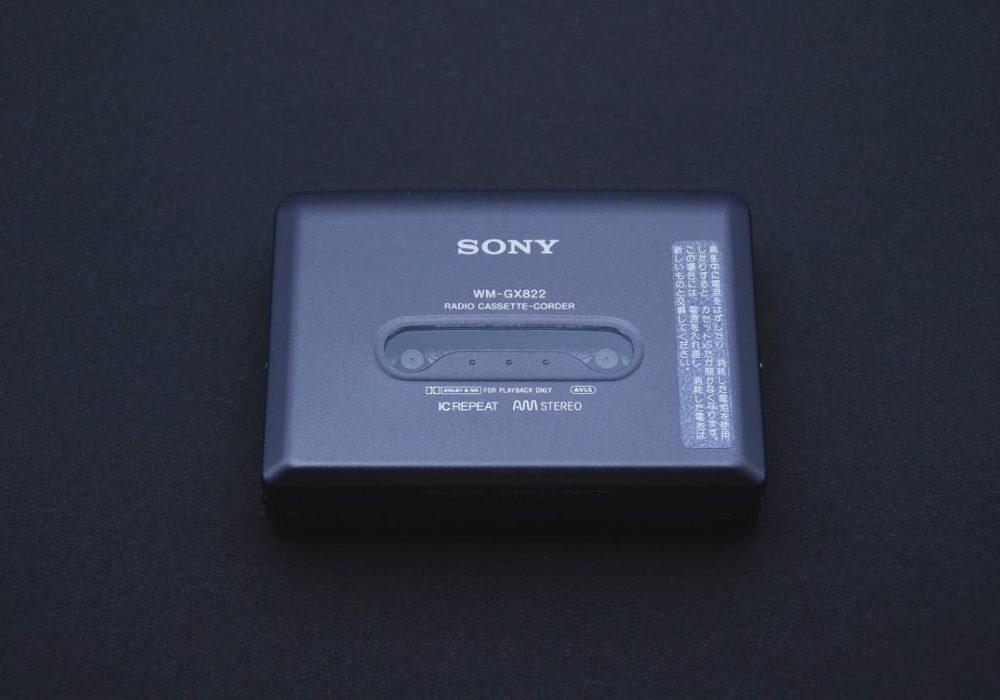 SONY WALKMAN WM-GX822 磁带随身听