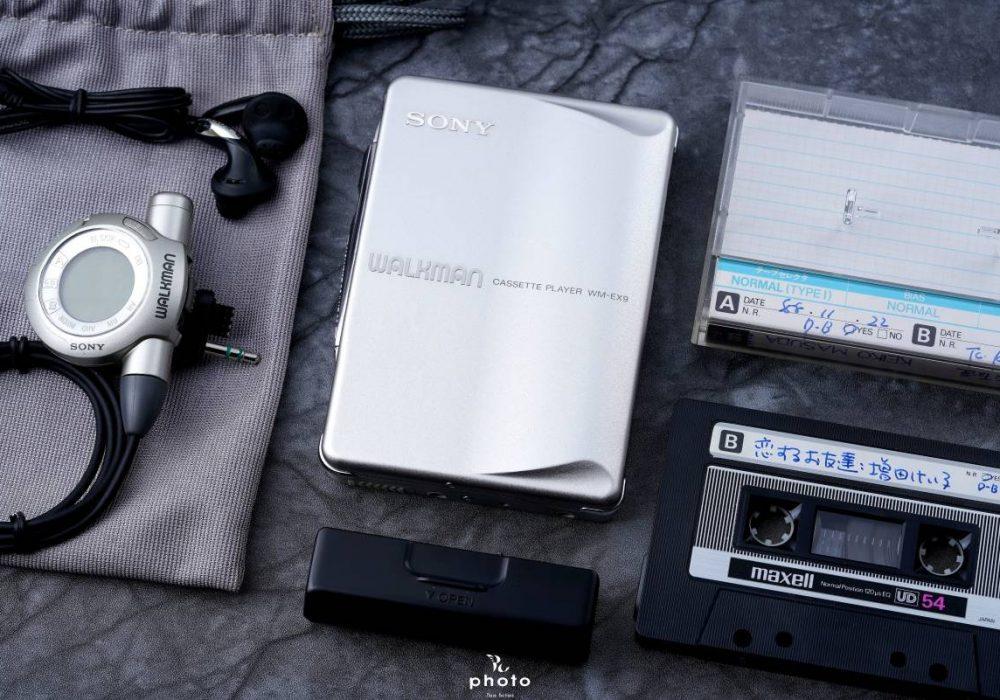 索尼 SONYWALKMAN 高音質便携カセット播放器 WM-EX9 シルバー