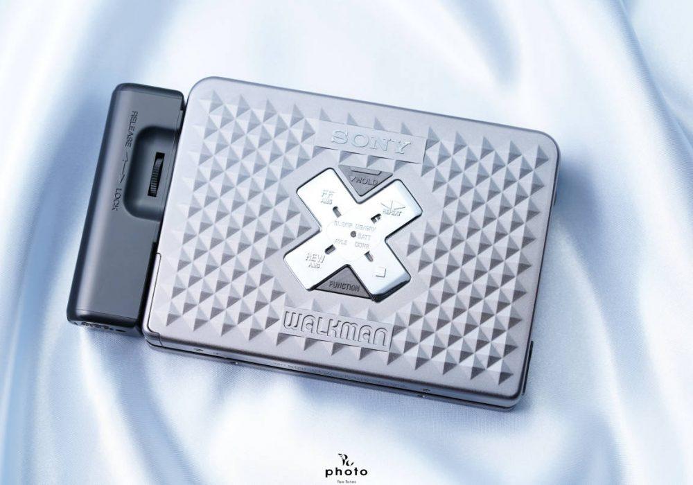 索尼 SONYWALKMAN 高音質便携カセット播放器 WM-EX655 ダークグレー