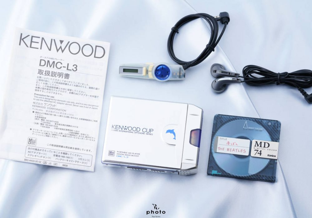 建伍 KENWOOD DMC-L3 MD随身听 便携 MD播放器