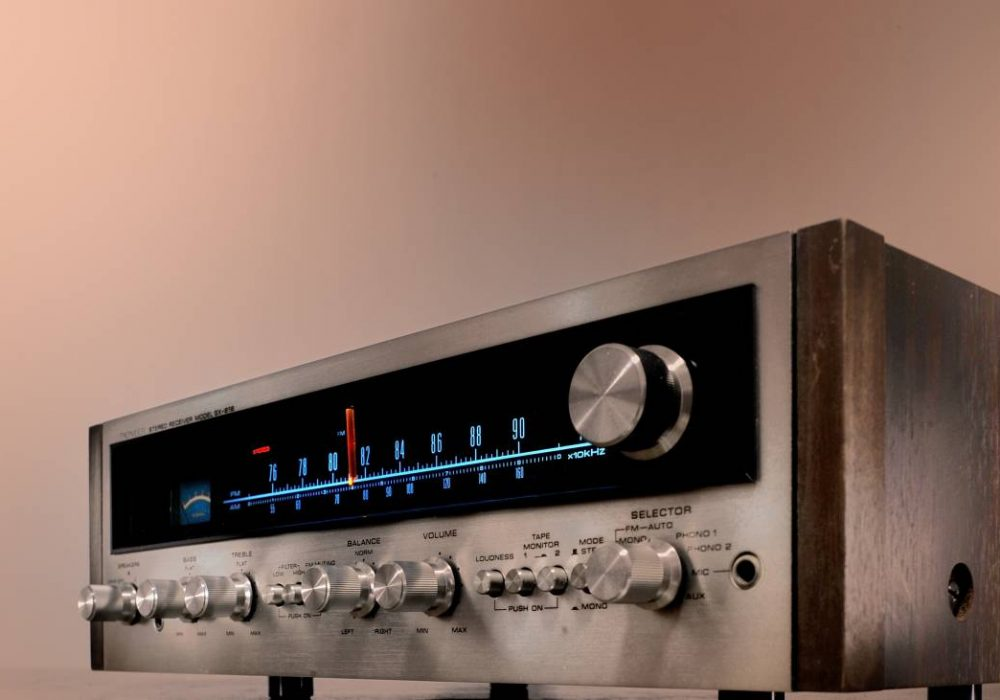 PIONEER SX-616 AM/FM 立体声收音头