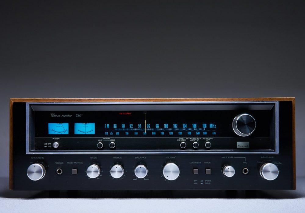 山水 SANSUI 690 收音头
