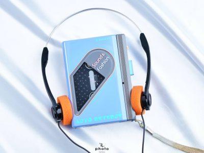 SANYO サンヨー便携カセット播放器 JJ-P30 Blue