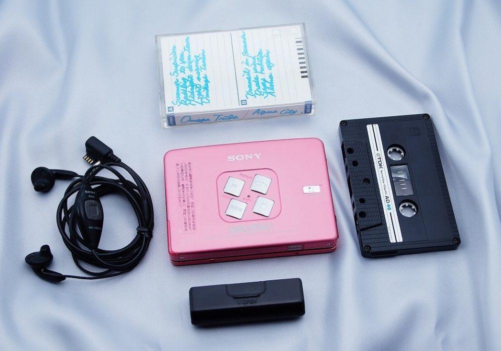 ◆◆索尼 SONY WALKMAN WM-EX633ウォークマン カセット播放器