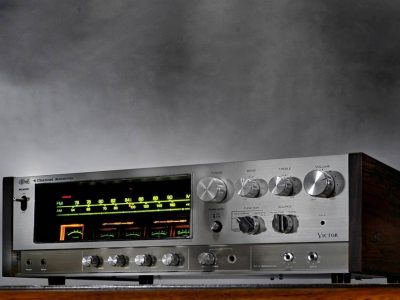 VICTOR 4CHANNEL RECEIVER GX-500 / 550 收扩机