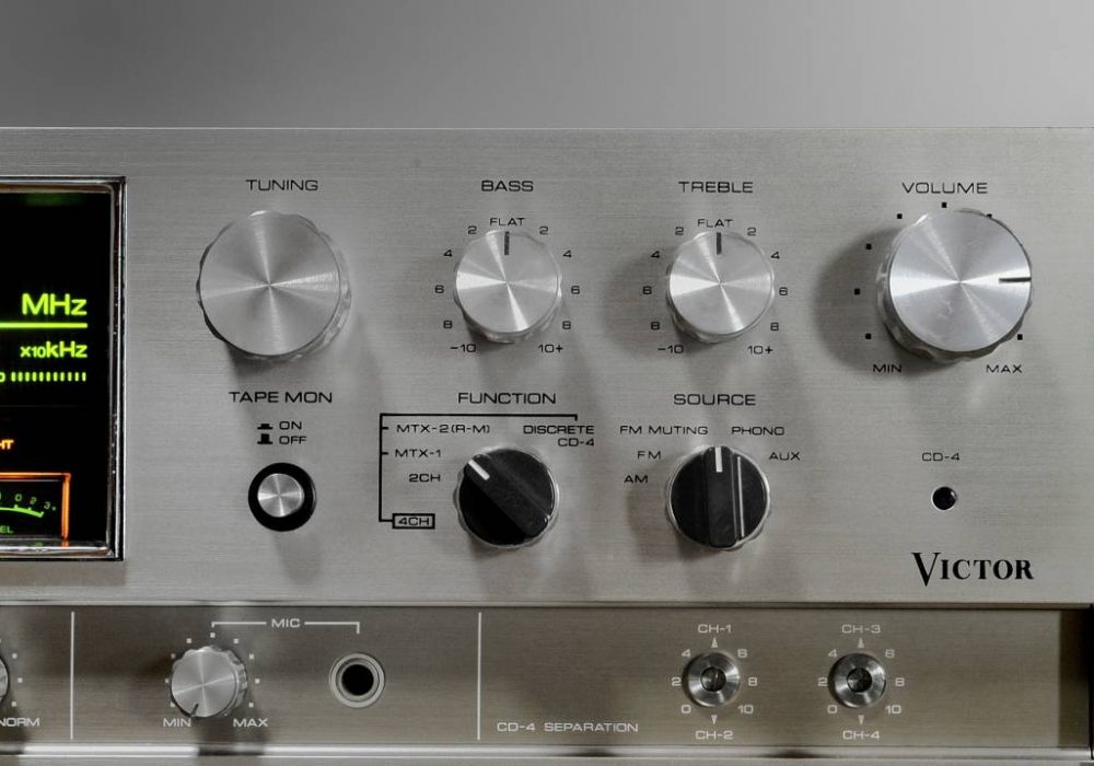 VICTOR 4CHANNEL RECEIVER GX-500 / 550 收扩机