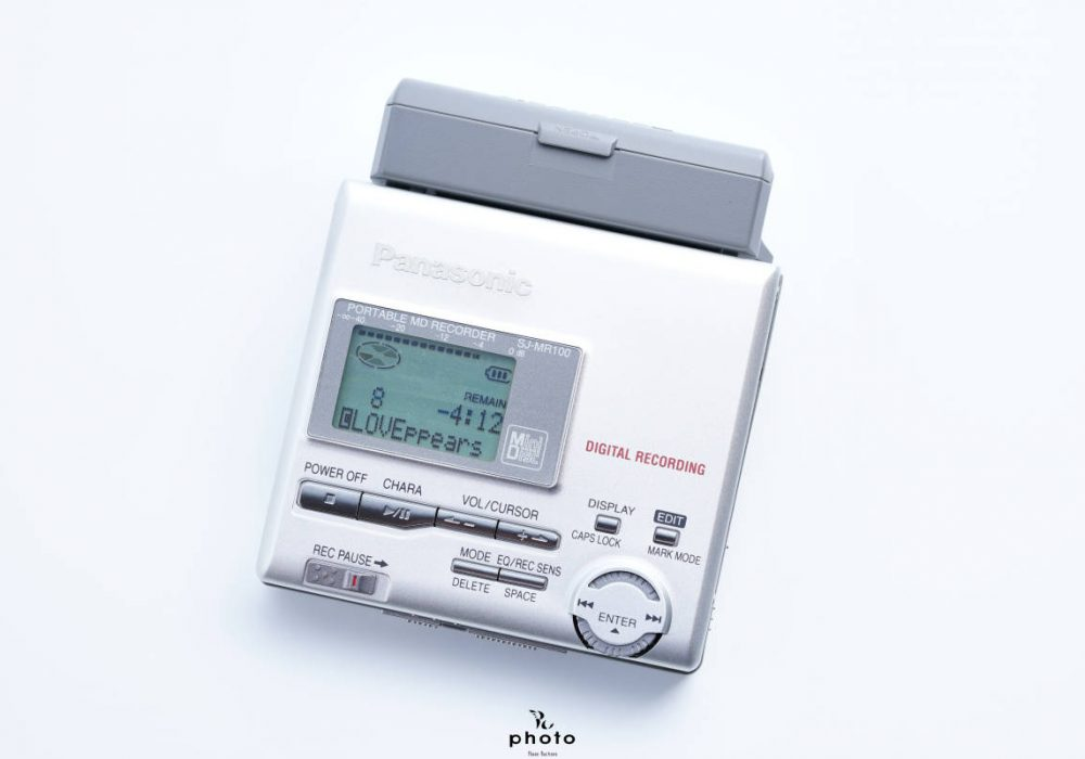 松下 Panasonic SJ-MR100 便携MD MD随身听