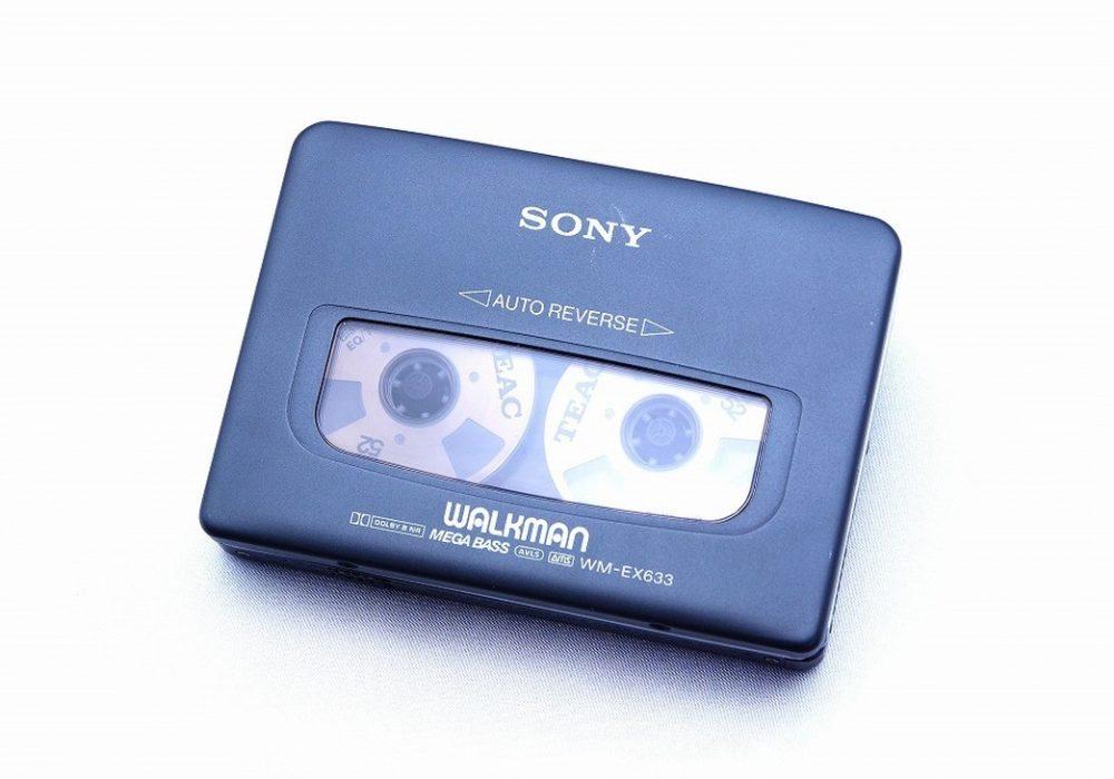 ◆美品◆索尼 SONY WALKMAN WM-EX633ウォークマン カセット播放器