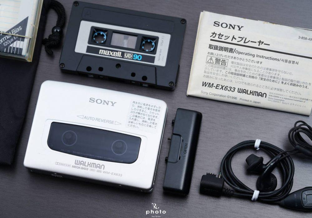 索尼 SONYWALKMAN 高音質便携カセット播放器 WM-EX633 シルバー