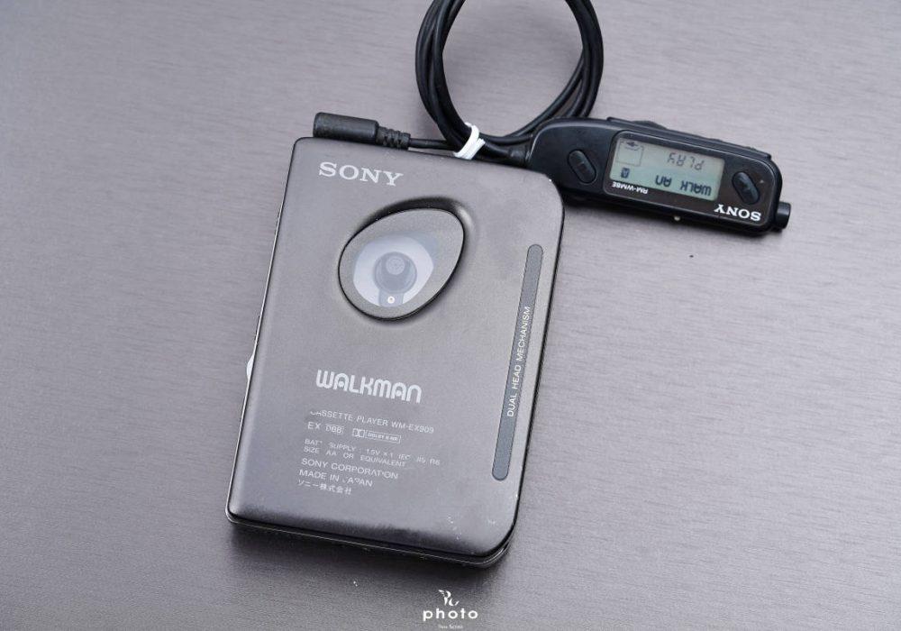 索尼 SONY WALKMAN DUAL HEAD WM-EX909 磁带随身听