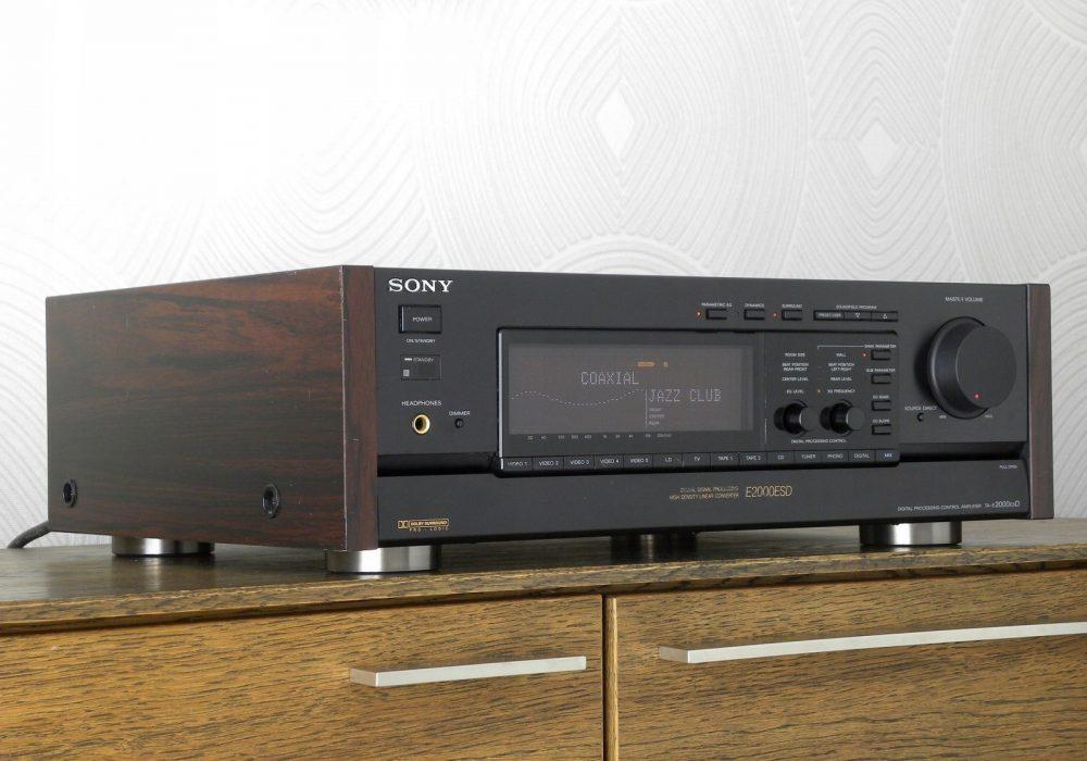 索尼 SONY TA-E2000ESD 功率放大器