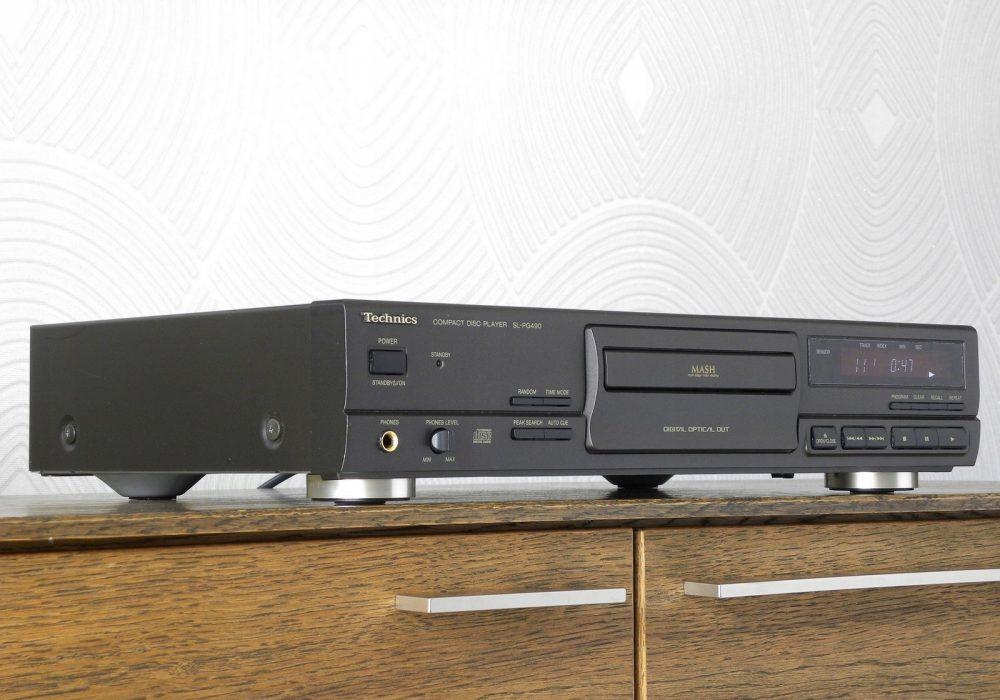 松下 Technics SL-PG490 CD播放机