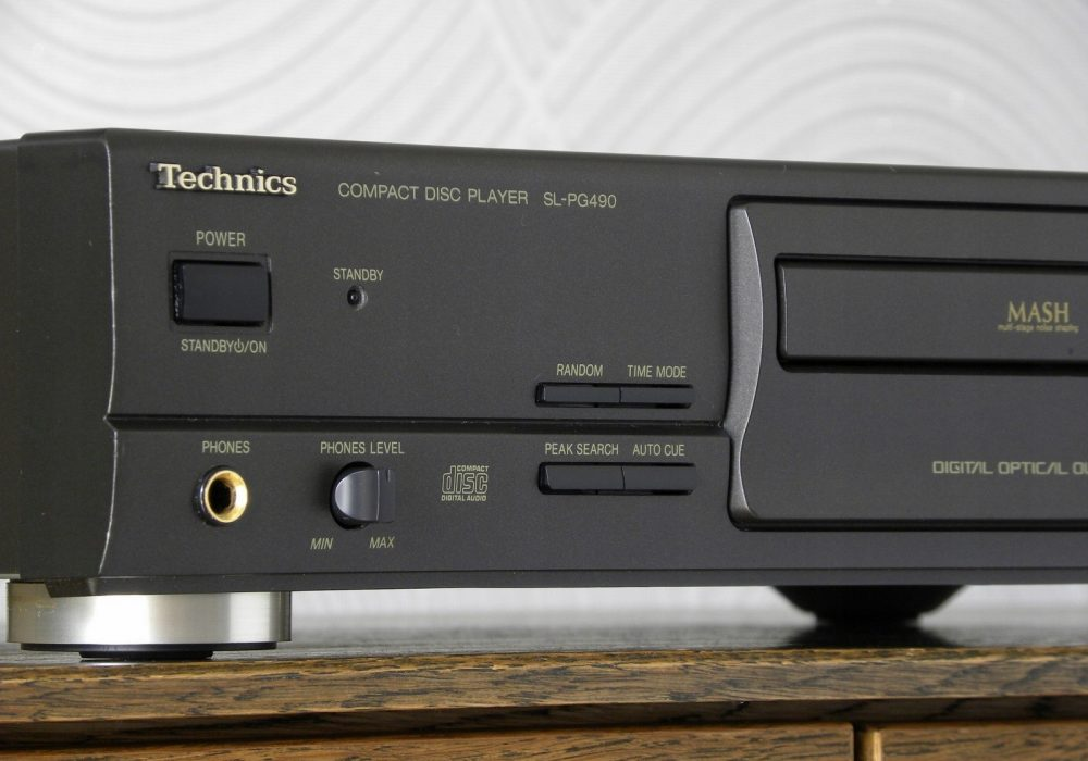 松下 Technics SL-PG490 CD播放机