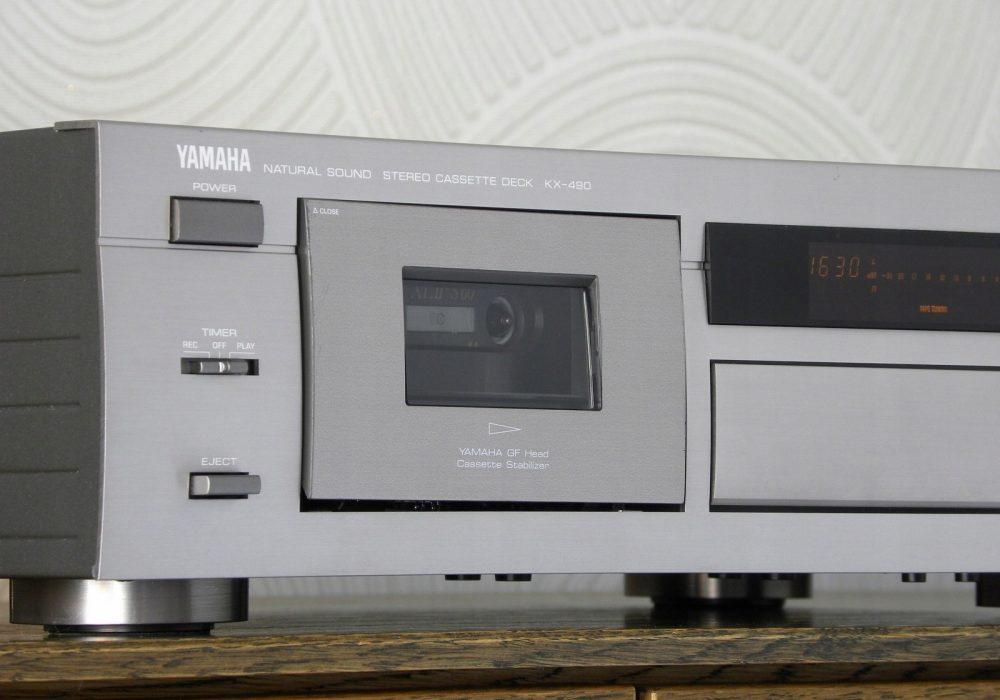 YAMAHA KX-490 卡座
