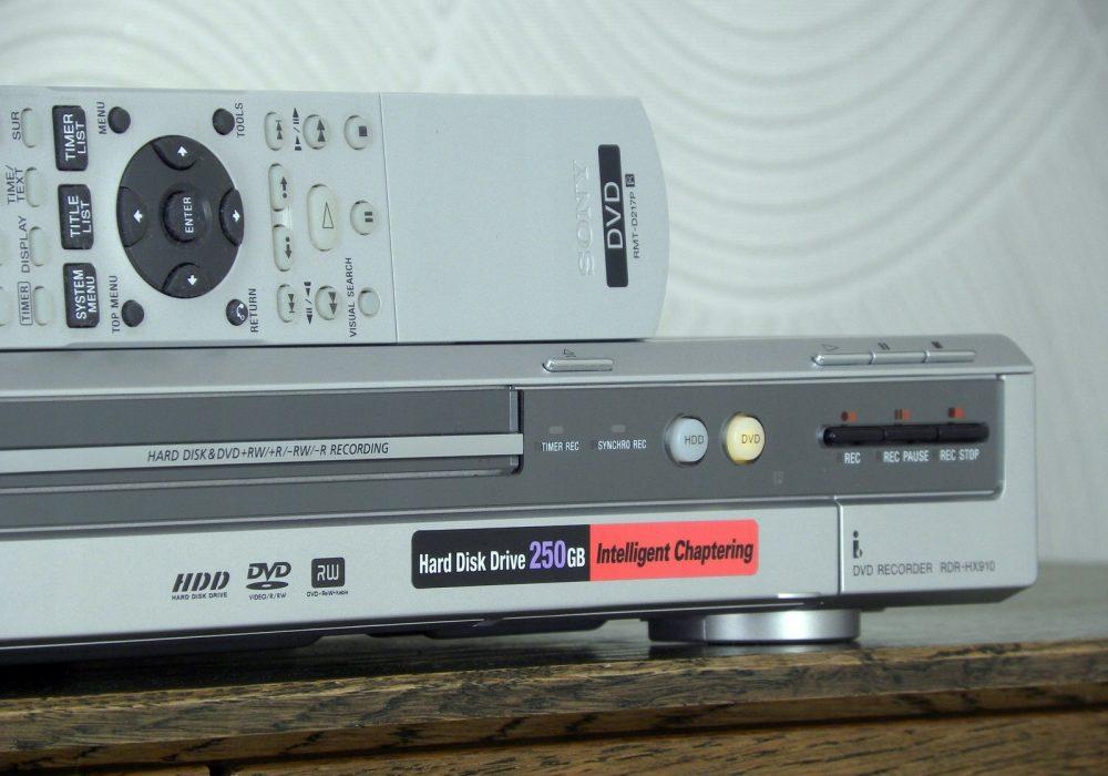 索尼 SONY RDR-HX910 DVD播放机
